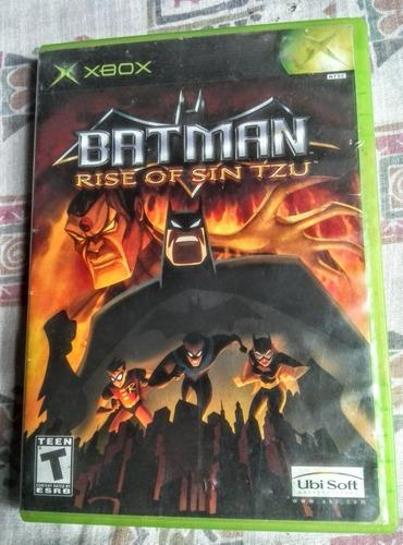 Batman Rise Of Sin Tzu (xbox Clasico) Compatible Xbox 360