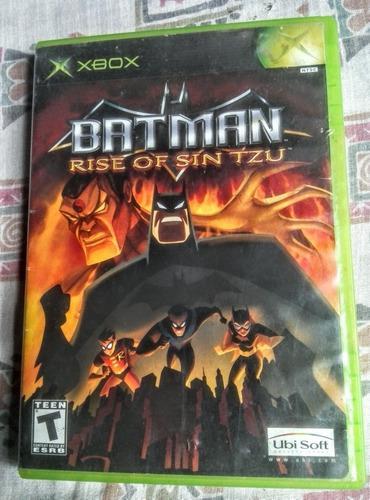 Batman Rise Of Sin Tzu (xbox Clasico) Compatible Xbox 360