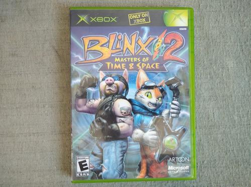 Blinx 2 Masters Of Time And Space Xbox Clásico