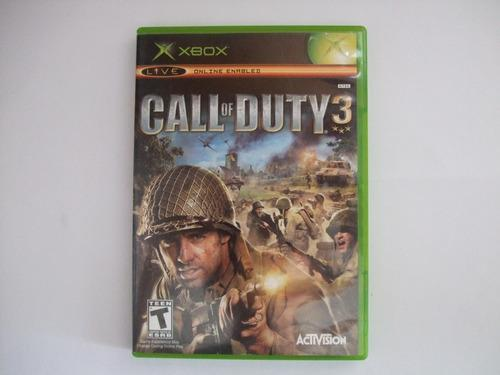 Call Of Duty 3 Xbox Clasico