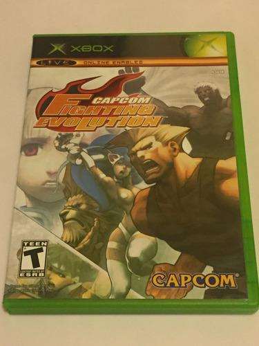 Capcom Fighting Evolution Xbox Clásico + Usb 8gb Gratis
