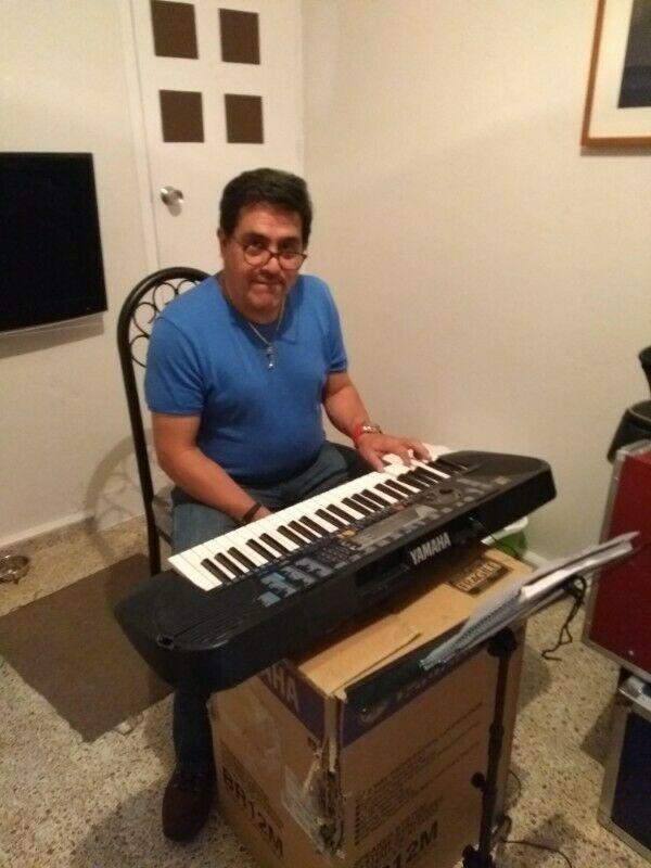 Clases de teclado a domicilio