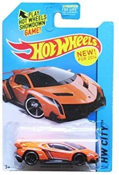 Coleccionable 2014 Hot Wheels Hw Ciudad Lamborghini Veneno