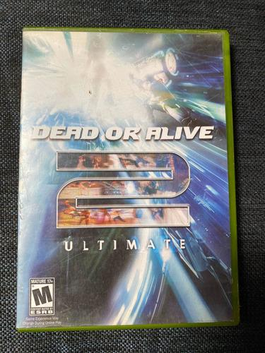 Dead Or Alive 2 Ultímate Xbox Clasico