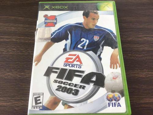Fifa 2003 Xbox Clásico