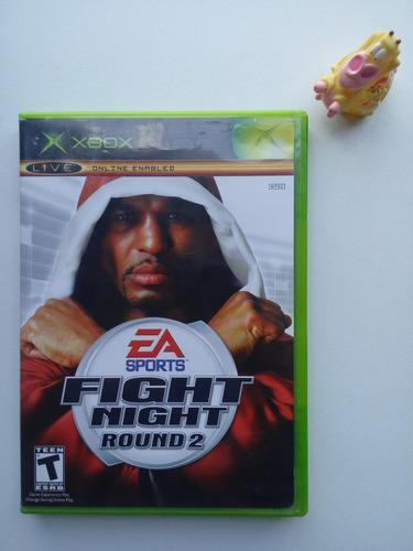 Fight Night Round 2 Xbox Clásico * Mundo Abierto Vg *