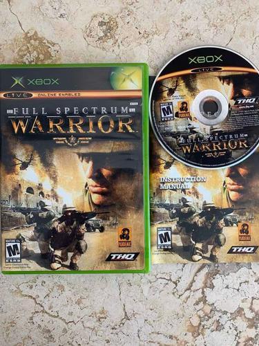 Full Spectrum Warrior Xbox Clásico Completo