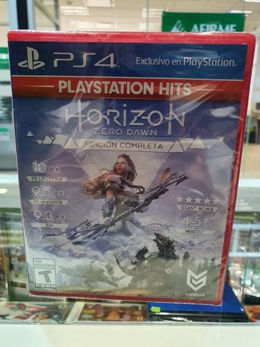 Horizon Zero Dawn Ps4 Edicion Juego Del Año Nuevo Sellado