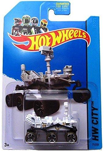 Hot Wheels 2014 Hw Ciudad Planet Heroes Mars Rover Curiosid