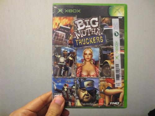 Juego Big Mutha Truckers Xbox Clásico Usado Completo Jala