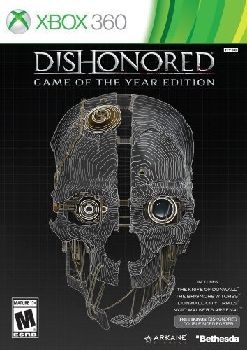 Juego Dishonored: Game Of The Year Edition Para Xbox 360