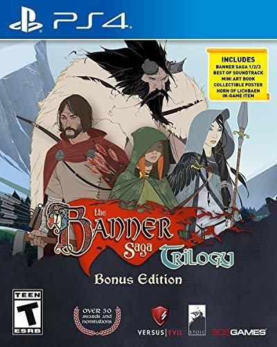 Juego The Banner Saga Trilogy De Playstation 4 Nuevo Sellado