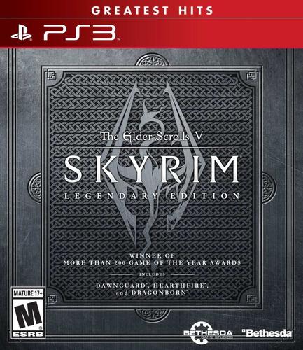 Juego The Elder Scrolls V Skyrim Legendary Ps3 Blakhelmet E