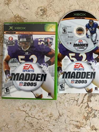 Madden Nfl 2005 Para Xbox Clásico Completo