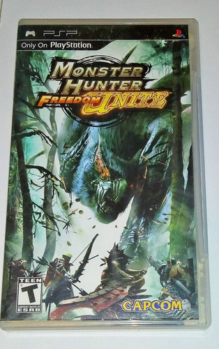 Monster Hunter Freedom Unite Juego Psp 1ra Ed Envío Gratis
