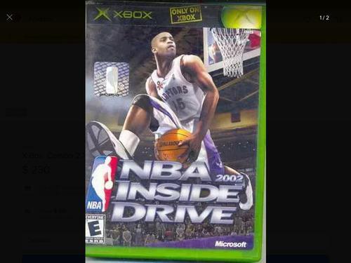 Nba Inside Drive 2002 Xbox Clásico