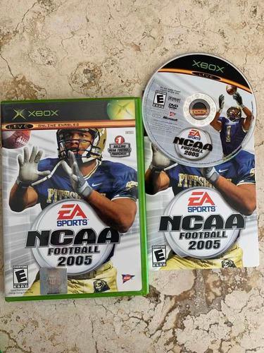 Ncaa Football 2005 Para Xbox Clásico Completo