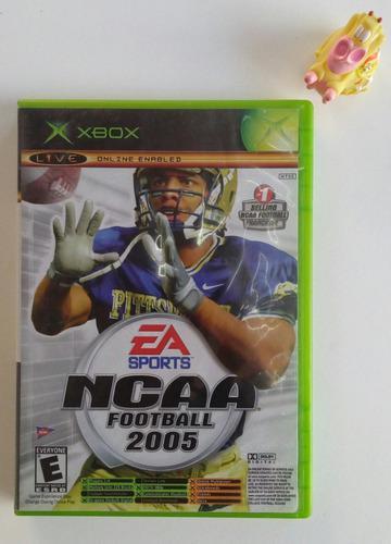 Ncaa Football 2005 + Top Spin Xbox Clásico