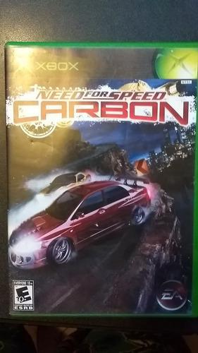 Need For Speed Carbon Para Xbox Clasico