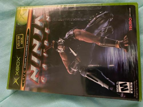 Ninja Gaiden Xbox Clasico 100% Nuevo Y Sellado