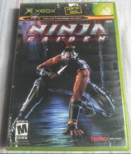 Ninja Gaiden (xbox Clásico) Compatible Con Xbox 360