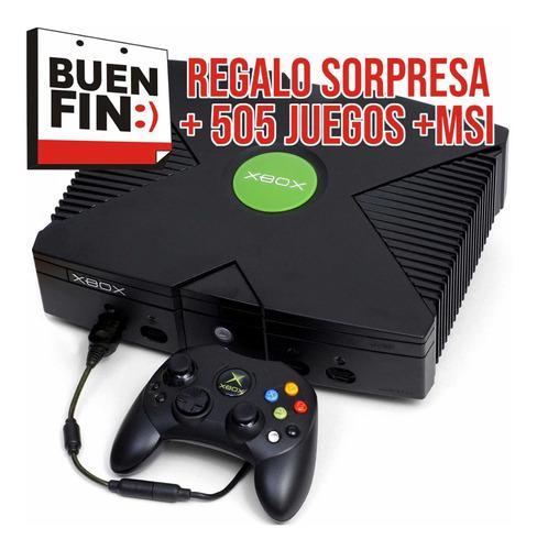 Paquete Xbox Clasic 2 Controles, 505juegos Msi Envío Gratis