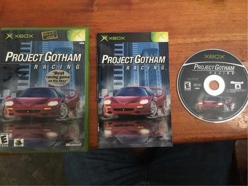 Project Gotham Racing Xbox Clásico