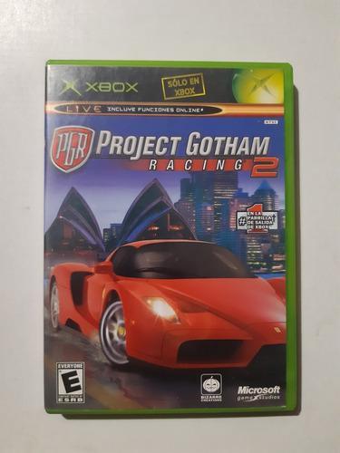 Project Gotham Videojuego Xbox Clasico