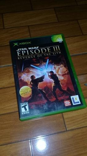 Star Wars Episode 3 Revenge Of The Sith Xbox Clasico