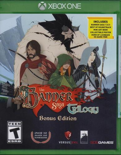 The Banner Saga Collection Xbox One Juego Nuevo En Karzov