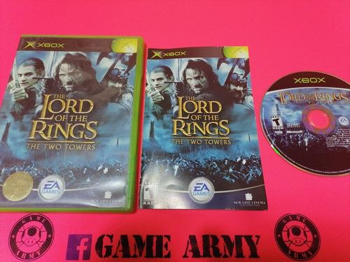 The Lord Of The Rings The Two Towers. Xbox Clasico