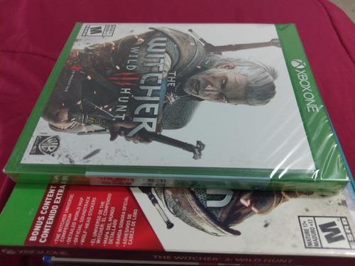 The Witcher 3 Wild Hunt Xbox One Edicion Juego Del Año