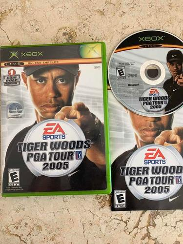 Tiger Woods Pga Tour 2005 Para Xbox Clásico Completo