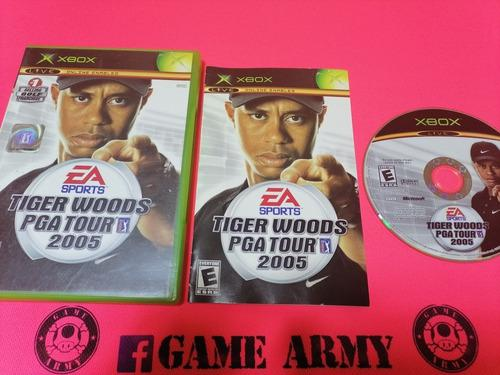 Tiger Woods Pga Tour 2005 Xbox Clasico