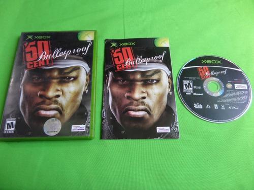 Video Juego Original 5o Cent Bullet Proof Xbox Clasico