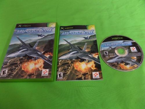 Video Juego Original Airforce Delta Storm Xbox Clasico