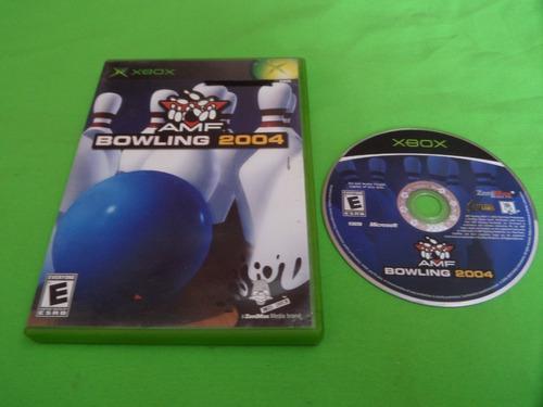 Video Juego Original Amf Bowling 2004 Xbox Clasico