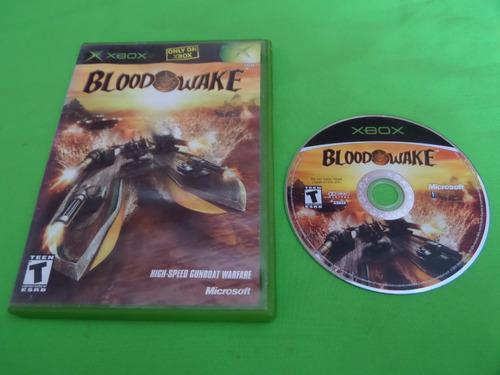 Video Juego Original Blood Wake Xbox Clasico
