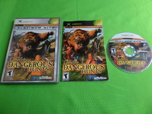 Video Juego Original Cabela's Dangerous Hunts Xbox Completo
