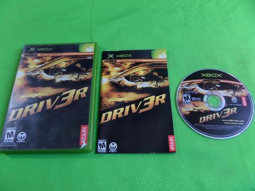 Video Juego Original Driver Xbox Clasico Completo