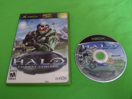 Video Juego Original Halo Combat Evolved Xbox Clasico