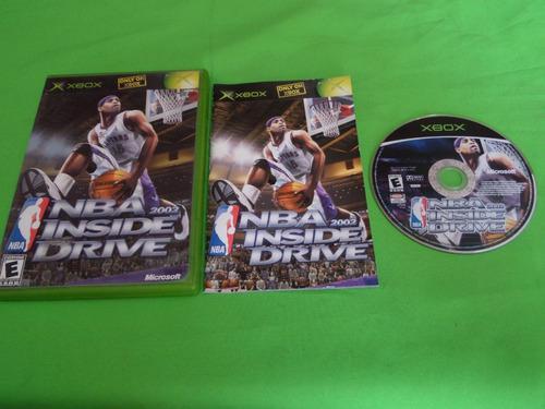 Video Juego Original Nba Inside Drive Xbox Clasico Completo