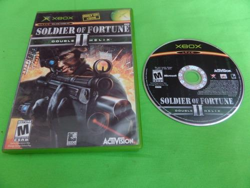 Video Juego Original Soldier Of Fortune Ll Double Helix Xbox