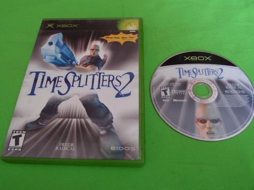 Video Juego Original Time Spliters 2 Xbox Clasico