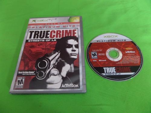Video Juego Original True Crime Streets Of L.a