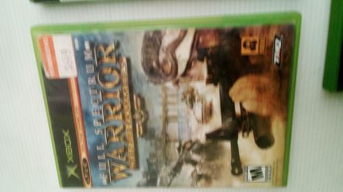 Videojuego De Xbox Clasico De Warrior Ten Hammers. Fisico