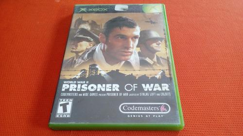 World War Prisoner Of War Xbox Clasico