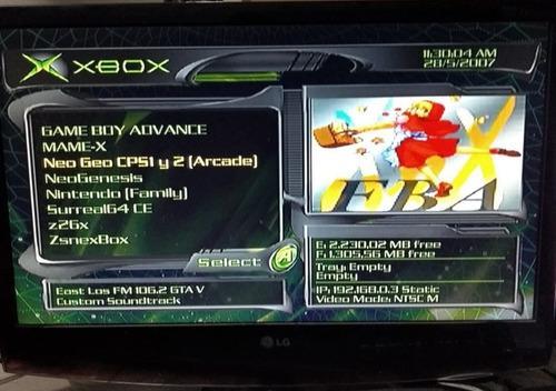 Xbox Clasico 160gb 2,500 Juegos Retro + 60 Juegos Completos