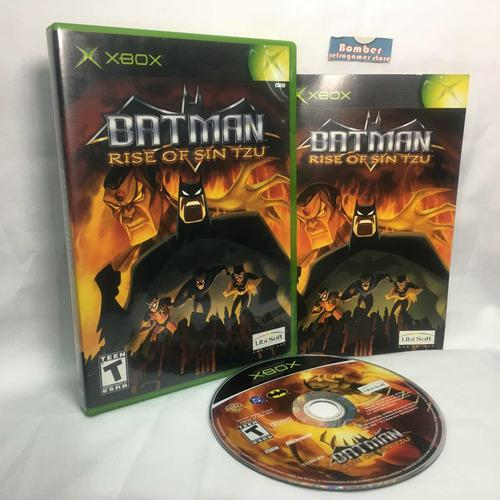 Xbox Clasico Batman Rose Of Sin Tzu