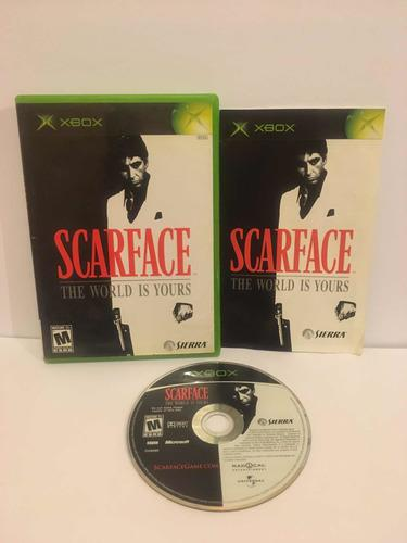 Xbox Clasico Scarface World Is Yours